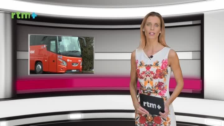 Krajský magazín o nákupu speciálního autobusu pro imobilní cestující.