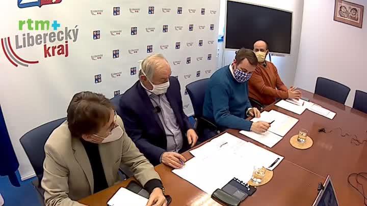 Brífink po jednání krizového štábu Libereckého kraje 30. 3. 2020
