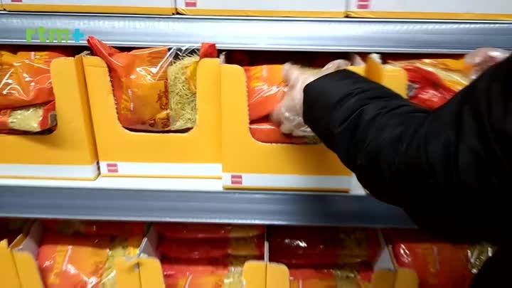 Zkušenosti prodavačky potravin
