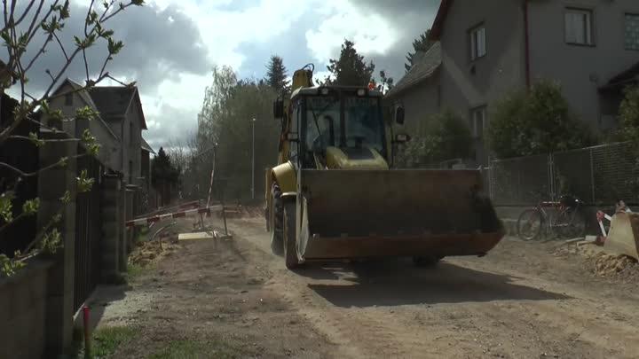 Chrastava rekonstruuje ulici Střelecký vrch