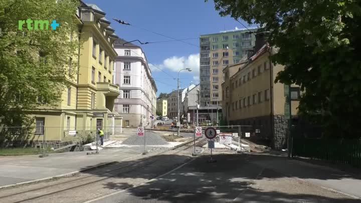 Jablonecký magazín o rekonstrukci křižovatky Poštovní a Budovatelů