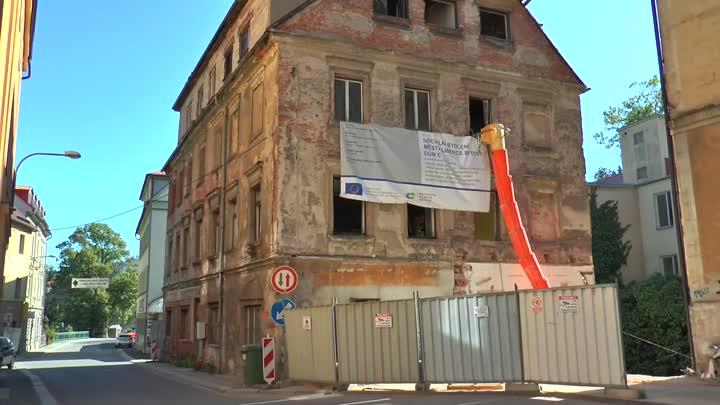 V historickém domě v Orlí ulici v Liberci vzniknou sociální byty