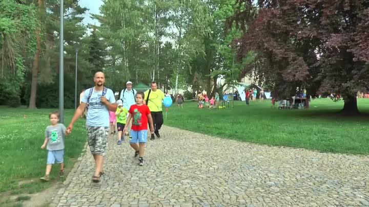 Děti si o víkendu užily den s turnovskou Žlutou ponorkou