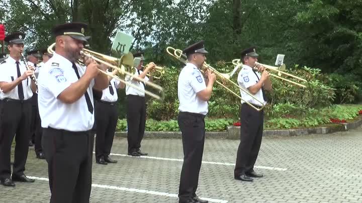 Hudba hradní stráže a Policie ČR se rozezněla Libercem